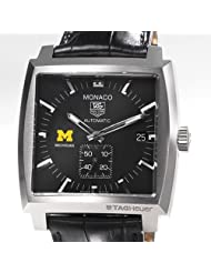 University of Michigan TAG Heuer Watch - Men's Monaco Watch