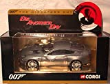 Corgi Die Another Day Aston Martin Vanquish Grey 007 Diecast Model 1.36 scale