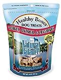 Natural Balance Turkey, Oatmeal and Cranberry Dog Treats, 8-Ounce Bag