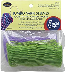 ArtBin Jumbo Yarn Sleeves, 3 Per Package