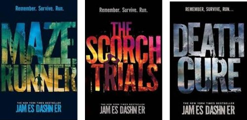 The Maze Runner Trilogy Collection Set - Maze Runner, the Scorch Trials & Death Cure By James Dashner