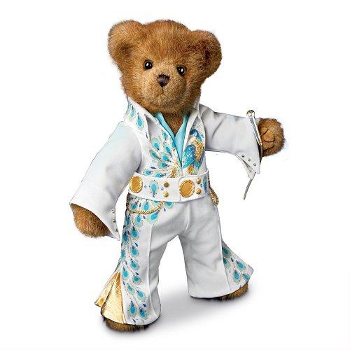 Elvis Presley: Viva The Teddy Bear Plush By The Ashton-Drake Galleries