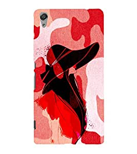 Pattern Fashionist Cute Fashion 3D Hard Polycarbonate Designer Back Case Cover for Sony Xperia C6