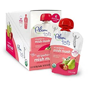 Amazon.com : Plum Organics Tots Mish Mash Organic Fruit Puree Snack