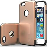 """iPhone 6 Case, Caseology [Dual Layer] Apple iPhone 6 (4.7"""" inch) Case [Champagne Gold] Premium Slim Fit Impact Resistant Protective Armor Rugged Hard iPhone 6 Case [Made in Korea] (for Apple iPhone 6 Verizon, AT&T Sprint, T-mobile, Unlocked)"""