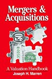 img - for Mergers & Acquisitions: A Valuable Handbook by Joseph H. Marren (1993-01-01) book / textbook / text book