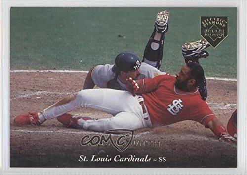 Ozzie Smith St. Louis Cardinals (Baseball Card) 1995 Upper Deck Gold Electric Diamond #60