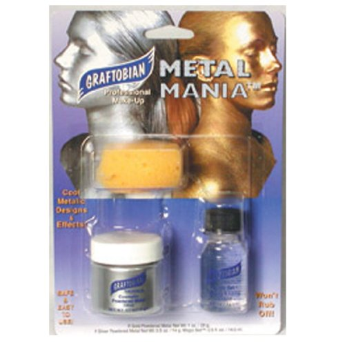 Metal Mania Silver Makeup Kit