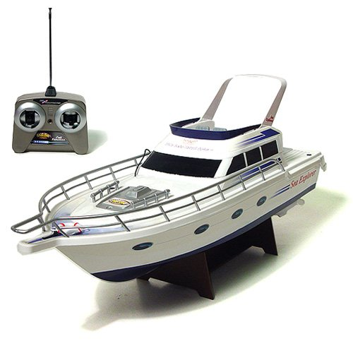 "Buy 18"" Sea Explorer II Radio Control Boat – Red (49 Mhz)"