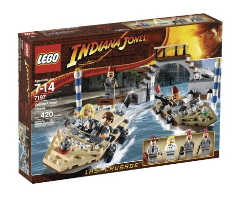 LEGO Indiana Jones 7197: Venice Canal Chase