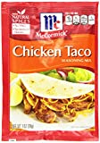 McCormick Taco, Chicken, 1 Ounce Units (Pack of 12)