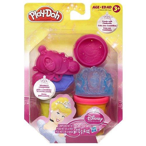 Play-Doh Disney Princess Sparkle Compound Kit [Cinderella] - 1