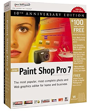 Jasc Paint Shop Pro 7.0 [OLD VERSION]
