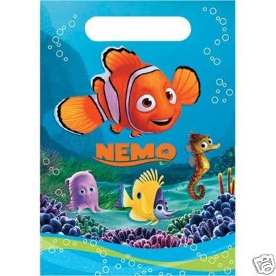 Finding Nemo Treat Bags - 8 Count