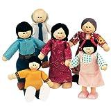 Small World Toys Ryan's Room Wood Doll House -Family Affair Asian-American Doll Family ~ Ryans Room