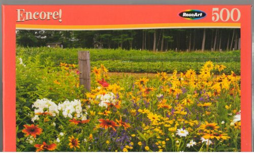 "RoseArt Encore ""Summer Flowers"" Jigsaw Puzzle - 500 piece"