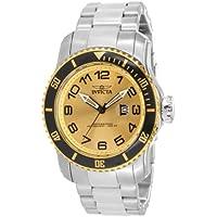 Invicta 15074 Pro Diver Gold Tone Bracelet Dive Mens Quartz Watch