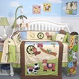 Boutique Baby Boy Framland Ranch 10pcs Crib Bedding SET
