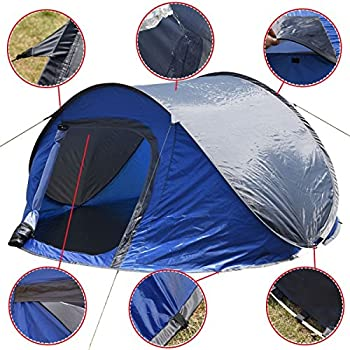 Goplus Waterproof 3-4 Person Camping Set