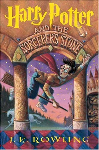 Harry Potter and the Sorcerer's Stone Book 1, J. K. Rowling