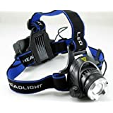 CREE T6 HeadLight ズーム機能付ヘッドライト 1200ルーメン 充電式 HO030