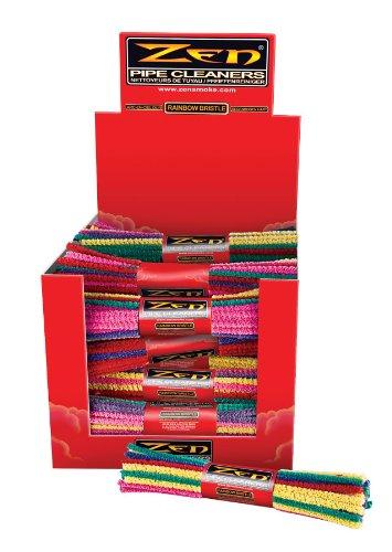3 Bundles Zen Pipe Cleaners - Rainbow Bristle- 132 Count - 1