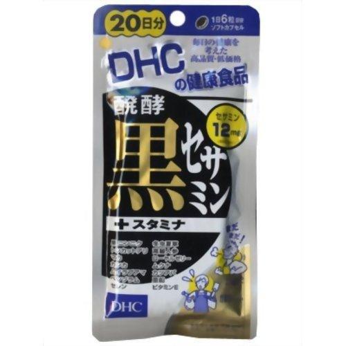 DHC 20日醗酵黒セサミン+スタミナ 50.4g