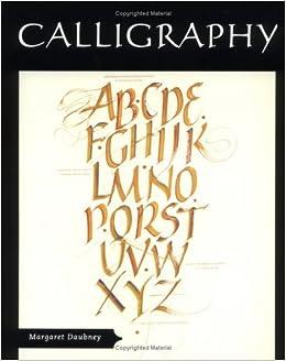 Calligraphy Margaret Daubney 9781861266620