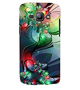 ColourCraft Abstract Image Design Back Case Cover for SAMSUNG GALAXY J1
