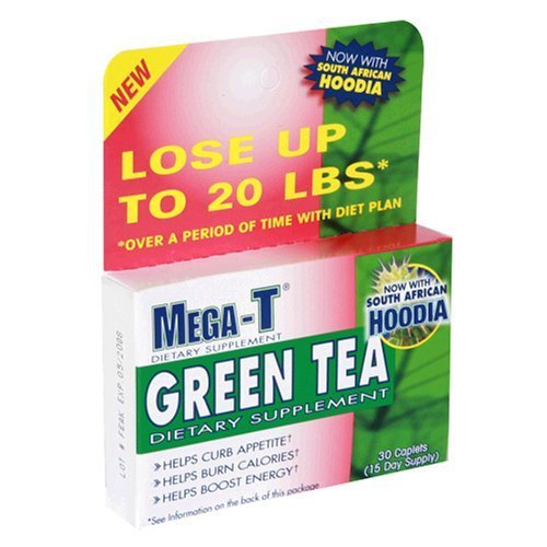 Mega T Green Tea With Hoodia And Acai Berry Reviews