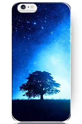 Sprawl New Fashion Design Idea Gift Hard Skin Cover Shell Poetic View Under Blue Starry Night (5.5-Inch) Apple Iphone 6 Plus Case front-50640