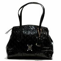 GUESS Valka studio satchel (Black)