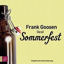 Sommerfest Hörbuch von Frank Goosen Gesprochen von: Frank Goosen