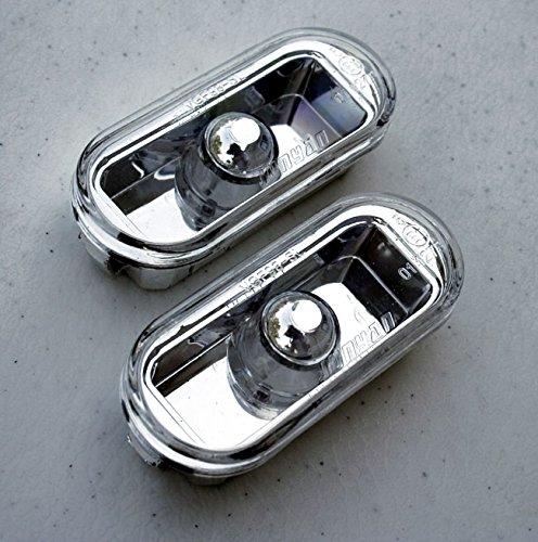 VW Golf Jetta MK4 4 Passat B5 B5.5 Clear Euro Side Marker Lights Turn Signals (Mk3 Side Marker compare prices)