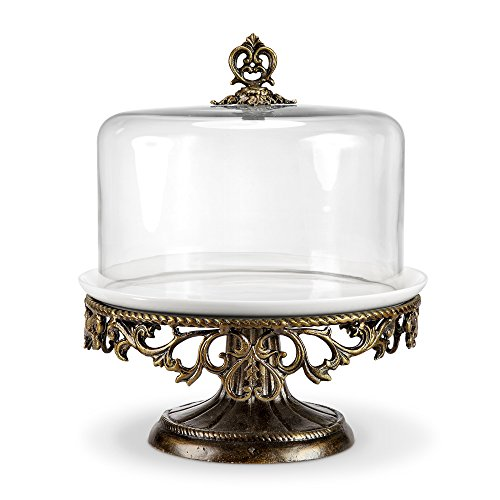 Viridian Bay Fontaine Collection Belrose Cake Stand (13 Pedestal Cake Plate compare prices)