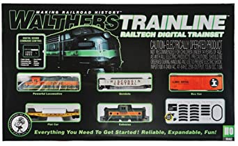 Walthers Trainline BNSF RailTech Set