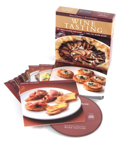 Wine Tasting Music CD and Recipe Cards