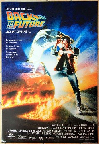 Poster Manifesto ORIGINALE - RITORNO AL FUTURO - BACK TO THE FUTURE - 61x91cm