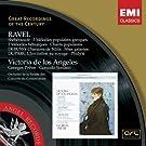 Ravel: Sh�h�razade; 5 M�lodies Populaires Grecques