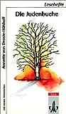 Die Judenbuche. Mit Materialien. (German Edition) (3122620103) by Droste-Hülshoff, Annette von