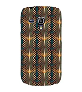 PrintDhaba Pattern D-5226 Back Case Cover for SAMSUNG GALAXY S3 MINI (Multi-Coloured)