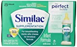Similac For Supplementation 2oz bottle, 48 count (Packaging May Vary)