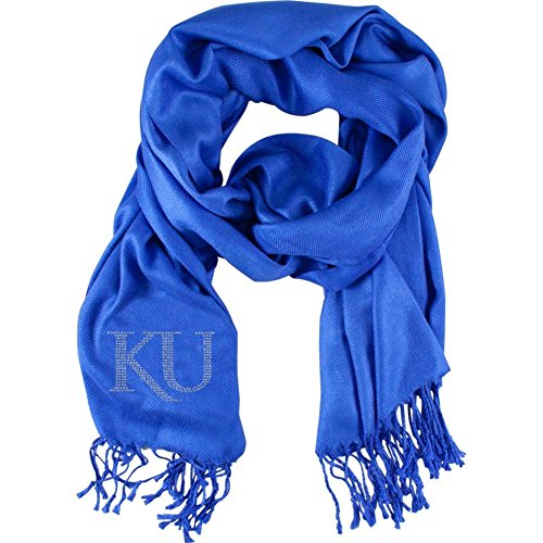 Ncaa Kansas Jayhawks Pashi Fan Scarf, Purple front-116821