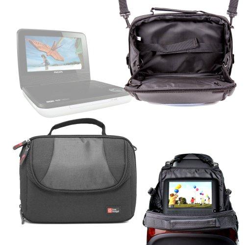 Support appui-tête et housse pour lecteurs DVD portables NextBase NEXT 9 Lite Duo & 9 Lite Deluxe, Philips PD7006P/05 et PD7030/12 - DURAGADGET
