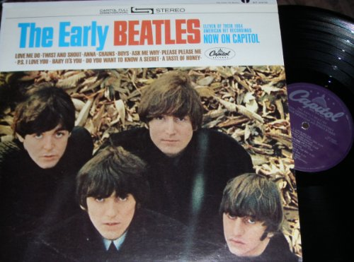 The Early Beatles artwork