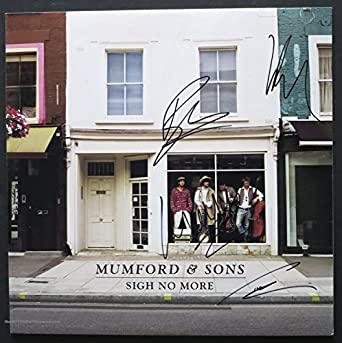 Mumford & Sons Autographed Album Signed by all 4 PSA DNA COA