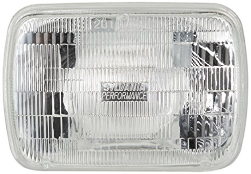 SYLVANIA H6054 SilverStar High Performance Halogen Sealed Beam Headlight 142x200, (Contains 1 Bulb) (1988 Honda Accord Headlight Bulb compare prices)