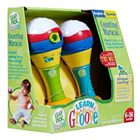 LeapFrog Learn &amp; Groove Counting Maracas