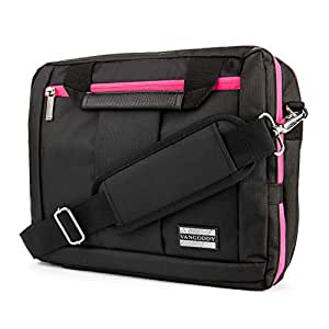 """VangoddyTM El Prado Collection 3 in 1 Backpack and Messenger Bag for Nokia Lumia 2520 10.1"""" Tablet  Pink  available at Amazon for Rs.5583"""