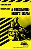Shakespeares A Midsummer Nights Dream (Cliffs Notes)